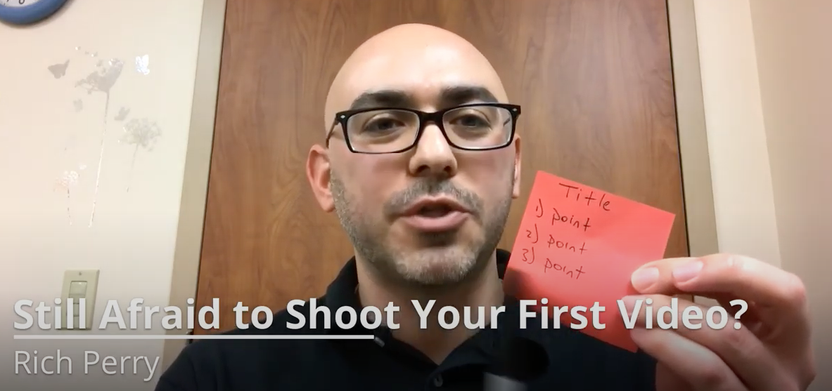 Still Afraid to Shoot Your First Video?